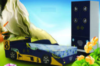 Photography of Mattress for 3' Mean Machine bed - mattress size 190 x 90 cm 6'3 x 3'