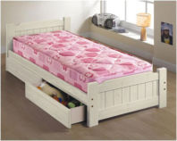 "Photography of child's mattress 175 x 75 cm to fit 2' 6"" Airsprung junior bed"