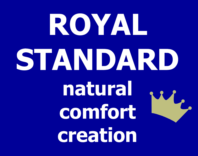 Photography of ROYAL STANDARD natural couture creation 140 x 70 cm