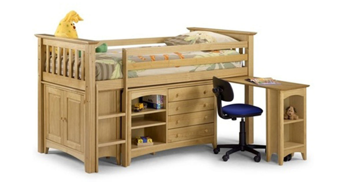 Детская кровать чердак из дерева