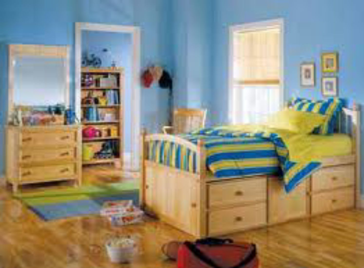 Furnishing a child`s room is no easy task