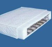 Photography of 119 x 58 cm fully sprung mattress for cots