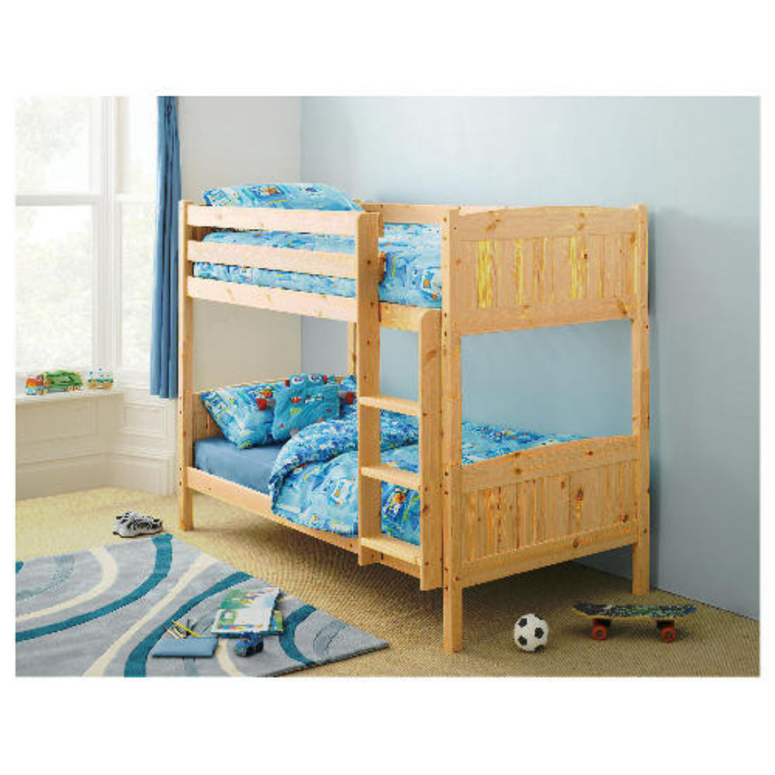 Shorty Bunk Beds With Mattresses Shorty mattress to fit Ashley Pine Detachable Bunk Bed mattress size ...