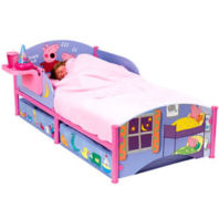Photography of Cot bed or Junior bed  mattress to fit Peppa Pig Junior Bed with Storage - mattress size is 140 x 70 cm