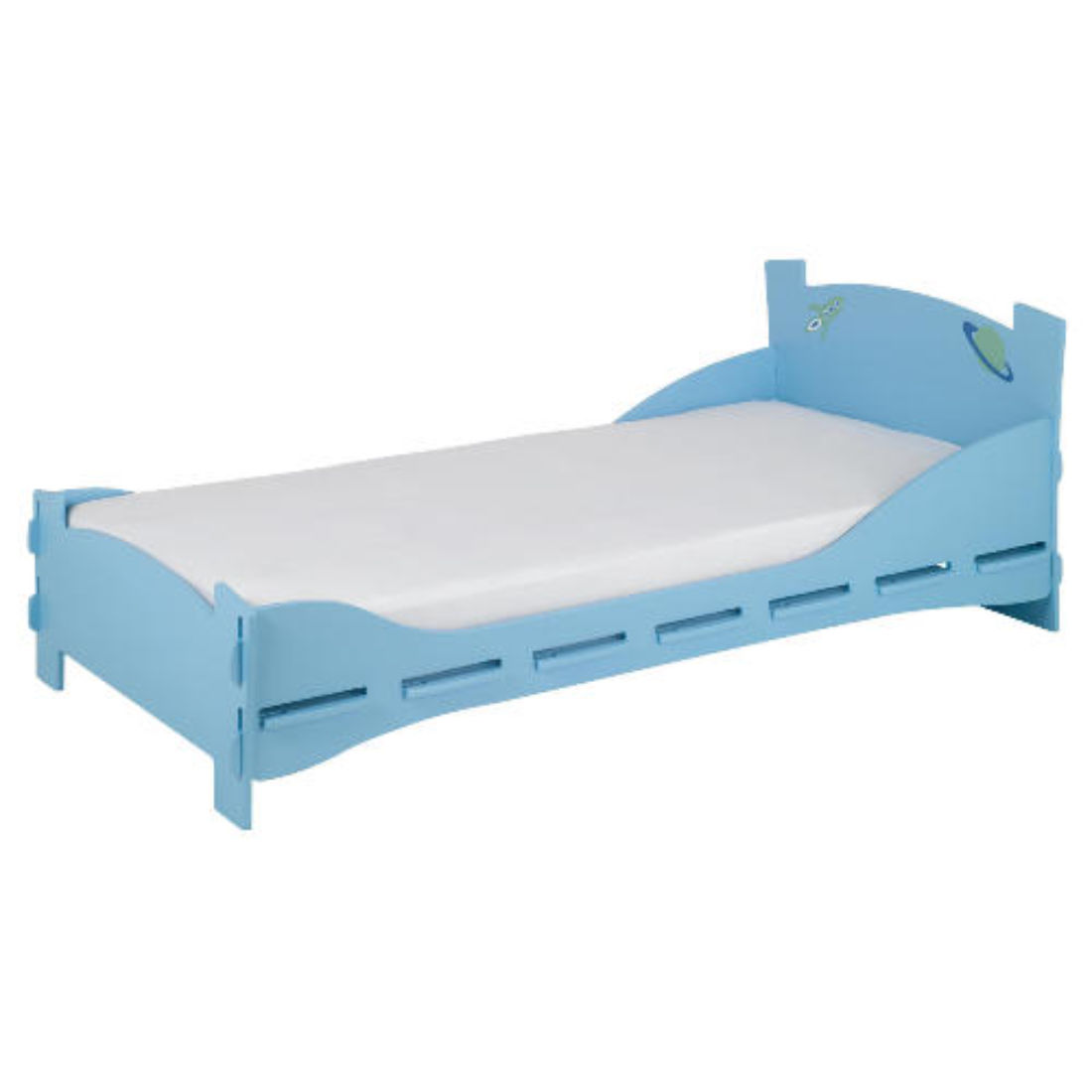 Mattress to fit Space Age Single Bed mattress size is