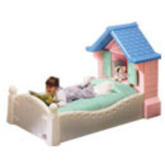 Cosy Little Tikes Home Garden Playhouse. cosy cottage bed Fully sprung mattress for Little Tikes Cosy Cottage