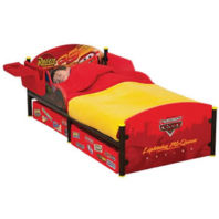 Photography of Cot bed or Junior bed  mattress to fit Disney Cars Junior Bed with Storage - mattress size is 140 x 70 cm