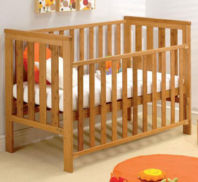 Photography of Fully Sprung mattress to fit East Coast Bamboo cot 119 x 59 cm