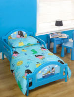 Photography of Cot bed or Junior bed  mattress to fit George the Pirate bed - mattress size 140 x 70 cm