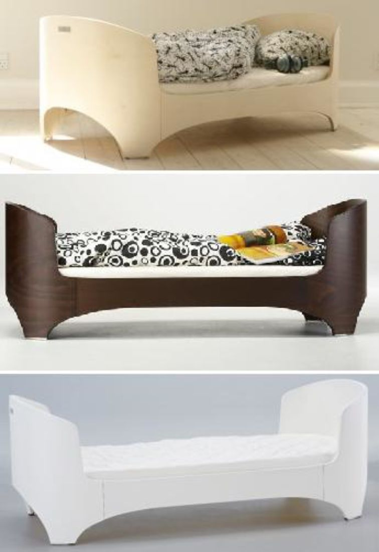 Exclusive leander cot bed mattresses childrens for Exclusive beds