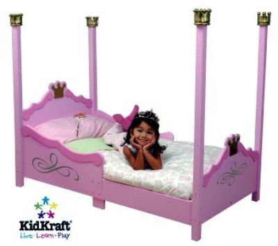 Fully sprung mattress for Kidcraft princess bed