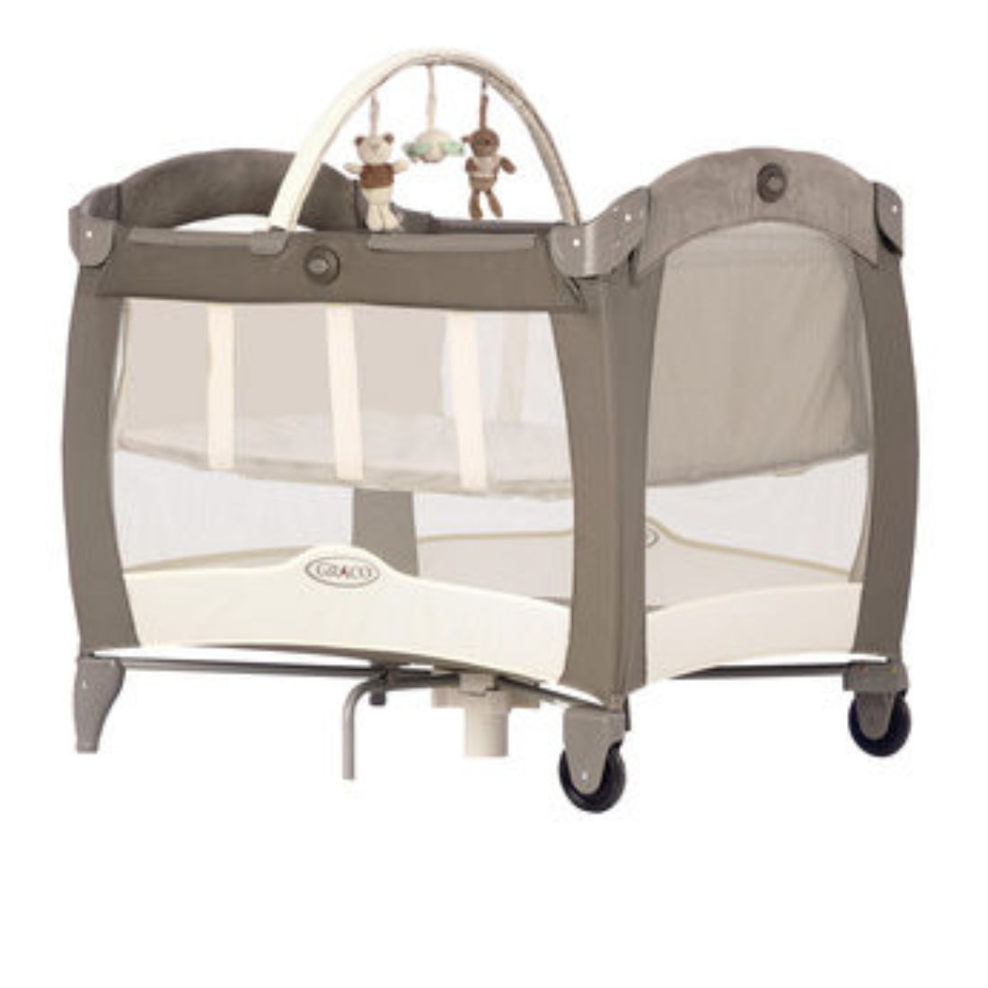 Babies R Us Travel Cot in Blue Review